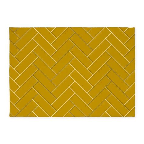 gold pattern rug gold pattern 5 x7 area rug by expressivemind