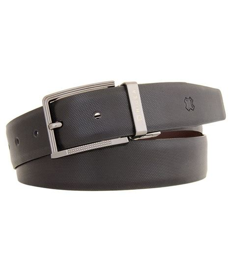 hidea black leather belt buy at low price in india
