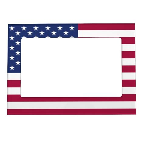 american picture frames american flag magnetic frame zazzle