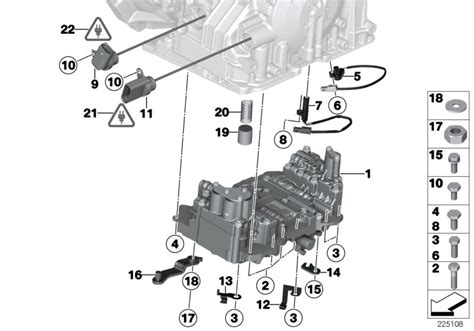 service manuals schematics 2003 mini cooper transmission control mini r60 countryman cooper s usa automatic transmission ga6f21wa control unit and mounting parts
