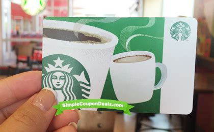 Starbucks Gift Card Groupon - hot invite only 10 starbucks egift card 5 at groupon simple coupon deals