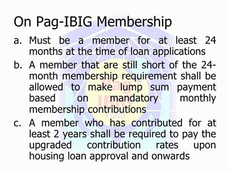 pag ibig housing loan monthly payment pag ibig housing loan monthly billing statement 28