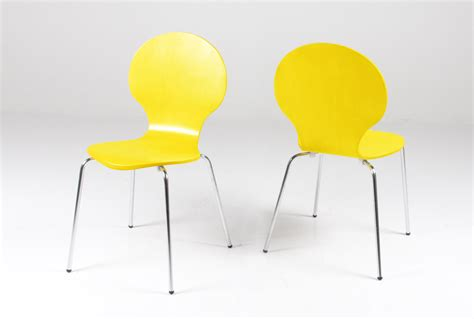 dinning chair yellow dining chairs image gallery modern yellow chair