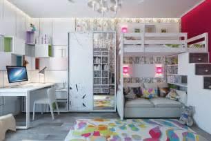 white bunk beds interior design ideas