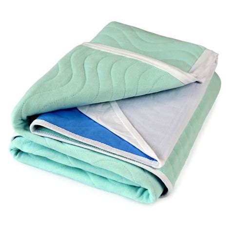 adult bed pads aleva 174 bed pad washable abso 174 3 litre waterproof pu 1x1m