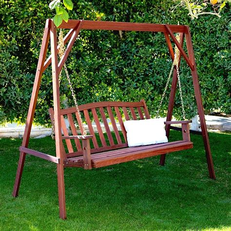 Patio Swing Set Sale Benches Teak Eucalyptus Shorea Kapur Patio Deck Furniture