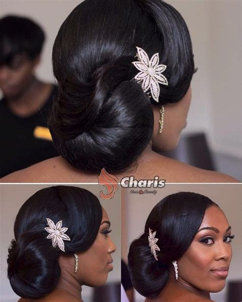 Black Up Hairstyles by 25 Best Ideas About Black Wedding Hairstyles On