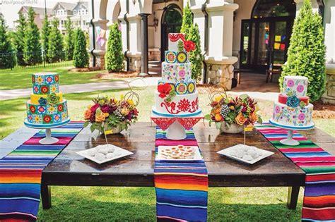 mesa postres boda estilo mexicano boda mexican