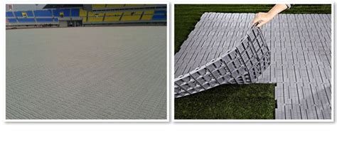 pp interlocking tent event protective flooring china pp