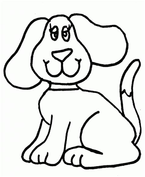 Easy Coloring Pages For Kids Coloring Home Simple Colouring Pages
