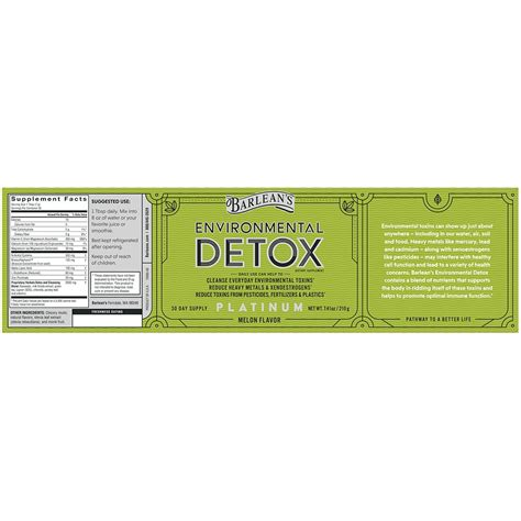 Melon Environmental Detox by Environmental Detox Melon 7 41oz