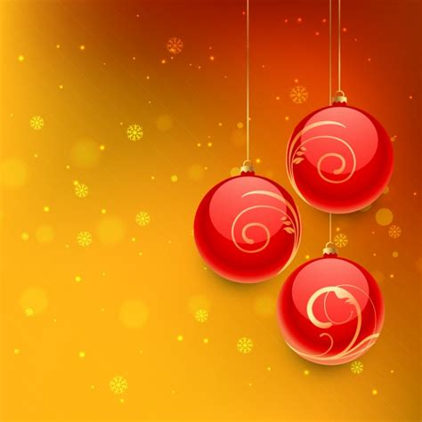 orange ornaments balls balls in orange background vector free