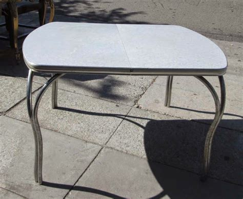 Formica Tables by Uhuru Furniture Collectibles Sold Vintage Silver