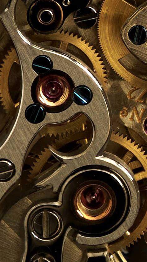 golden  gears closeup iphone  wallpaper hd