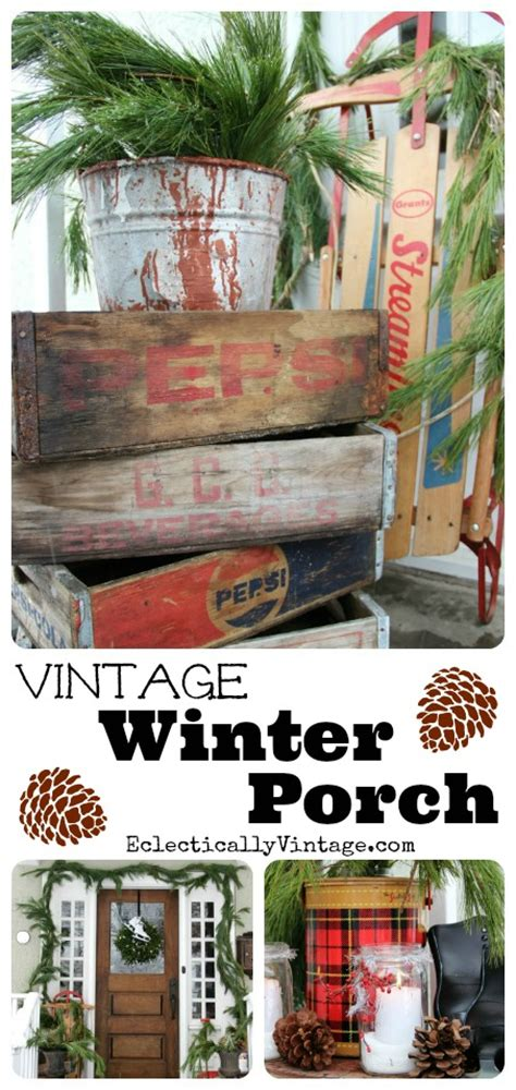 winter porch decorating ideas merry porch decorating ideas eclectically vintage