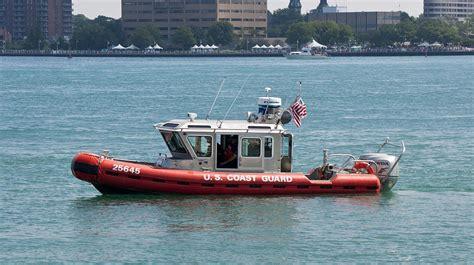 small boat cost us coast guard small boat st clair river michigan usa