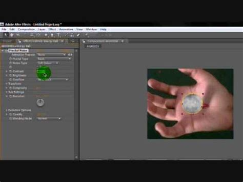 tutorial adobe after effect pemula adobe after effects cs4 energy ball tutorial youtube