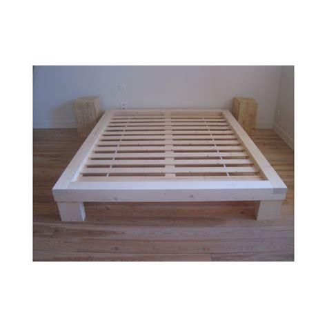 cadre lit futon pieds de lit futon