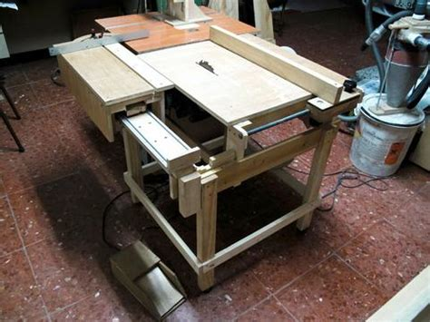 Lu Rem Mobil sliding tablesaw crowdbuild for