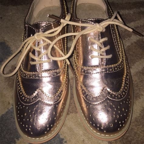 wanted oxford shoes 19 wanted shoes wanted gold oxfords from