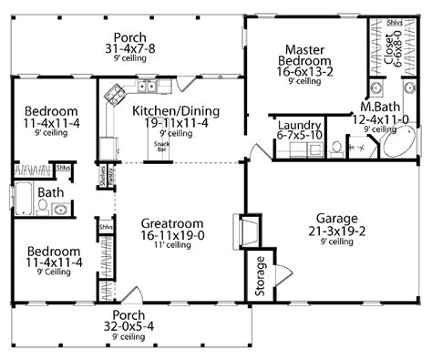 One Story House Floor Plans by 301 Moved Permanently