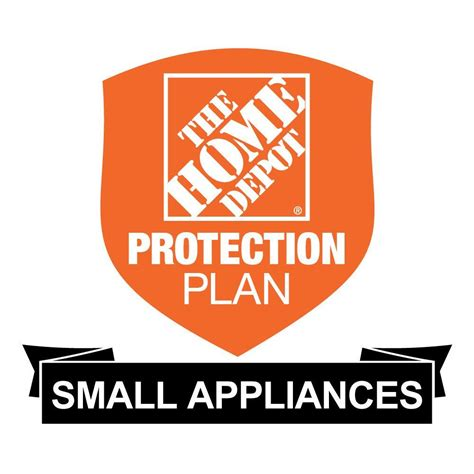 home appliance protection plans the home depot 3 year protection plan for small appliances
