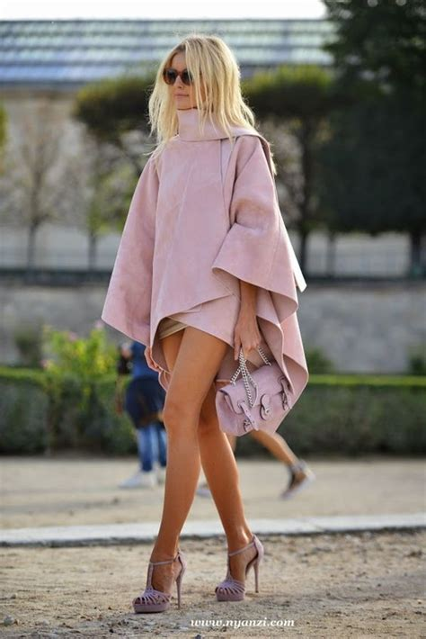Mono Jaket Dusty Pink winter poncho ponchos and dusty pink on