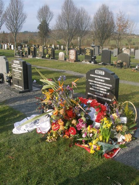 george best foundation file roselawn crematorium and cemetery belfast geograph