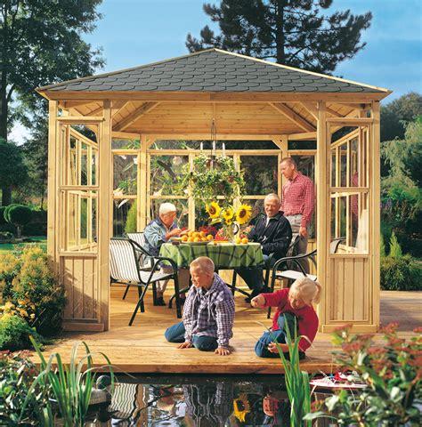 Pavillon Im Garten by Kaufen Sie Garten Pavillons Im Holz Fachmarkt H 246 Lzl