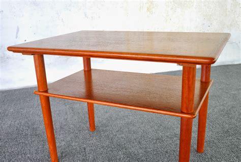 select modern danish modern teak side  table  nightstand