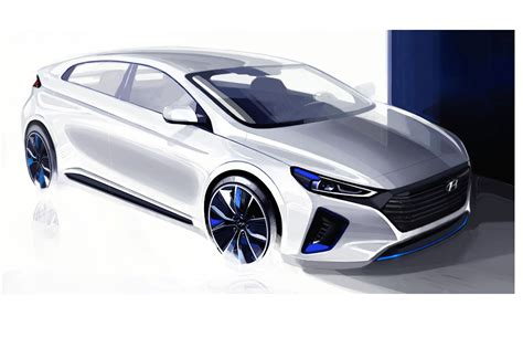 hyuandi cars electric trifector new hyundai ioniq with ev phev and