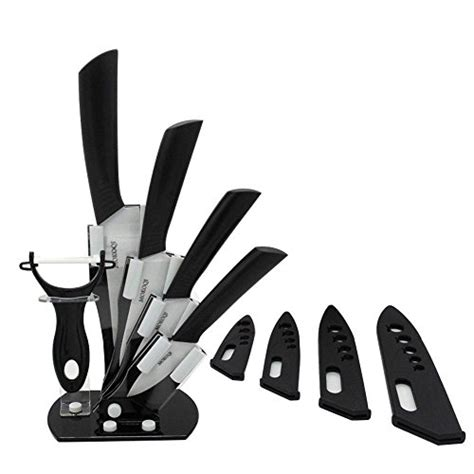 ceramic kitchen knives set mokoqi professional 7 ceramic kitchen knife cutlery and import it all
