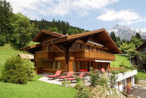 chalet houses chalet princess griwarent grindelwald switzerland booking