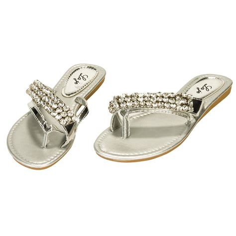 s sandals with bling s rhinestone flip flop bling sandals