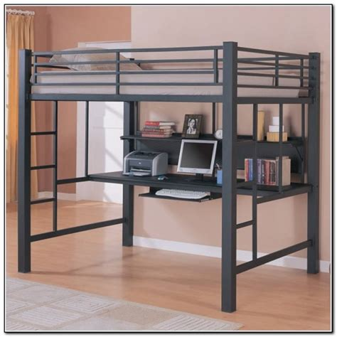 size desk bed loft bed with desk ikea beds home design ideas