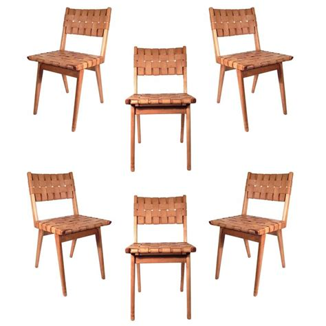 woven dining room chairs set of six original mel smilow woven leather chairs at 1stdibs