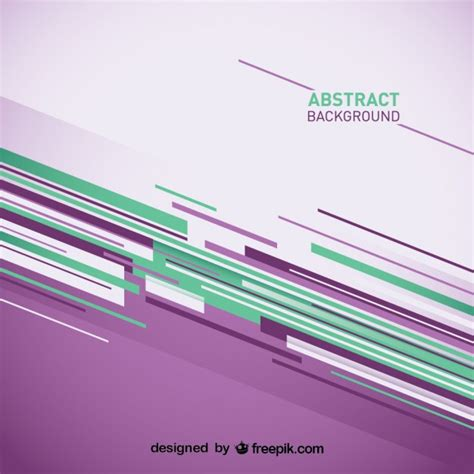 abstract lines pattern vector abstract background with purple and green stripes vector
