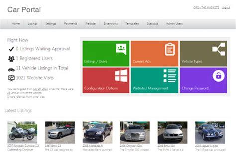 Sourcode Web Portal Kus Responsive car portal php script auto classifieds cars software