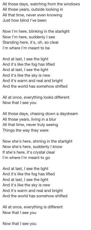 i see the light lyrics lyrics from quot tangled quot quot i see the light quot wedding