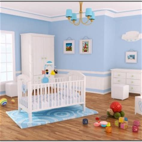 kinderzimmer farbgestaltung junge babyzimmer junge wandgestaltung