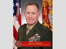 Brigadier General Edward D. Banta > Marine Corps ... Mciwest Mcb Campen