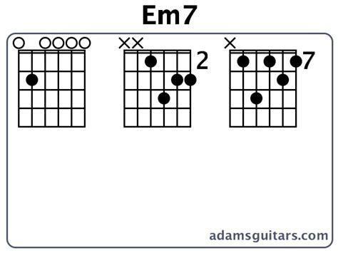 em7 guitar chord diagram em7 guitar chords from adamsguitars