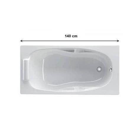 baignoire droite 140 cm coffee