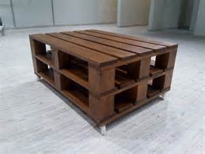 Pallett Coffee Table Recycled Pallet Coffee Table On Wheels 101 Pallets