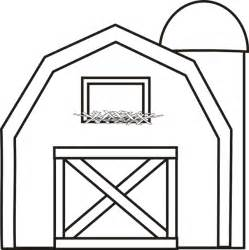 barn template barn with silo coloring page use with big barn