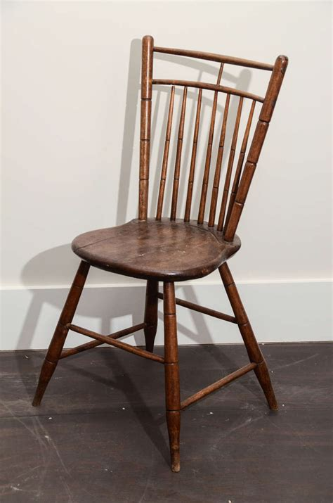 wooden spindles for chairs wooden side chair with spindle back at 1stdibs