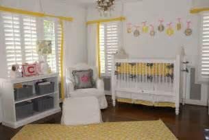 Yellow And Grey Nursery Decor Yellow And Grey Baby Nursery