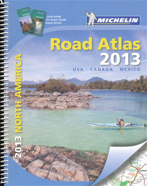 road map usa book usa northern america road atlas michelin 2013 spiral