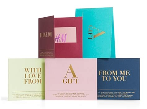 Any Store Gift Card - gift card merchandise credit h m us