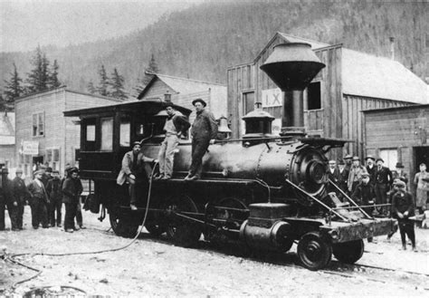 Ill Pass On The Railroad Stripes by History White Pass Yukon Route Railway